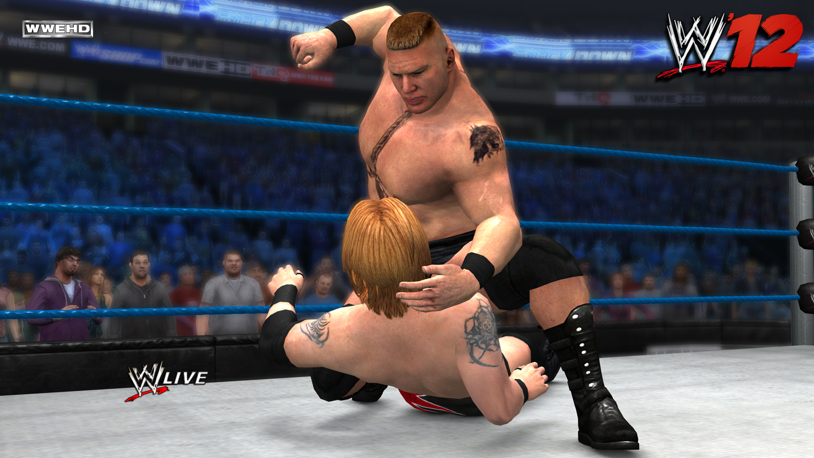 New Wrestling Game For Ps3 : Wwe preview hands on with road to wrestlemania and