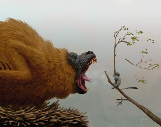Bobby Chiu's roaring creature: Final Image