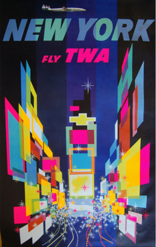 Vntage posters - TWA