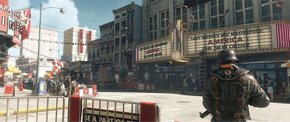 Wolfenstein 2 alternate '60s timeline is 'absolutely fearless from a story perspective'