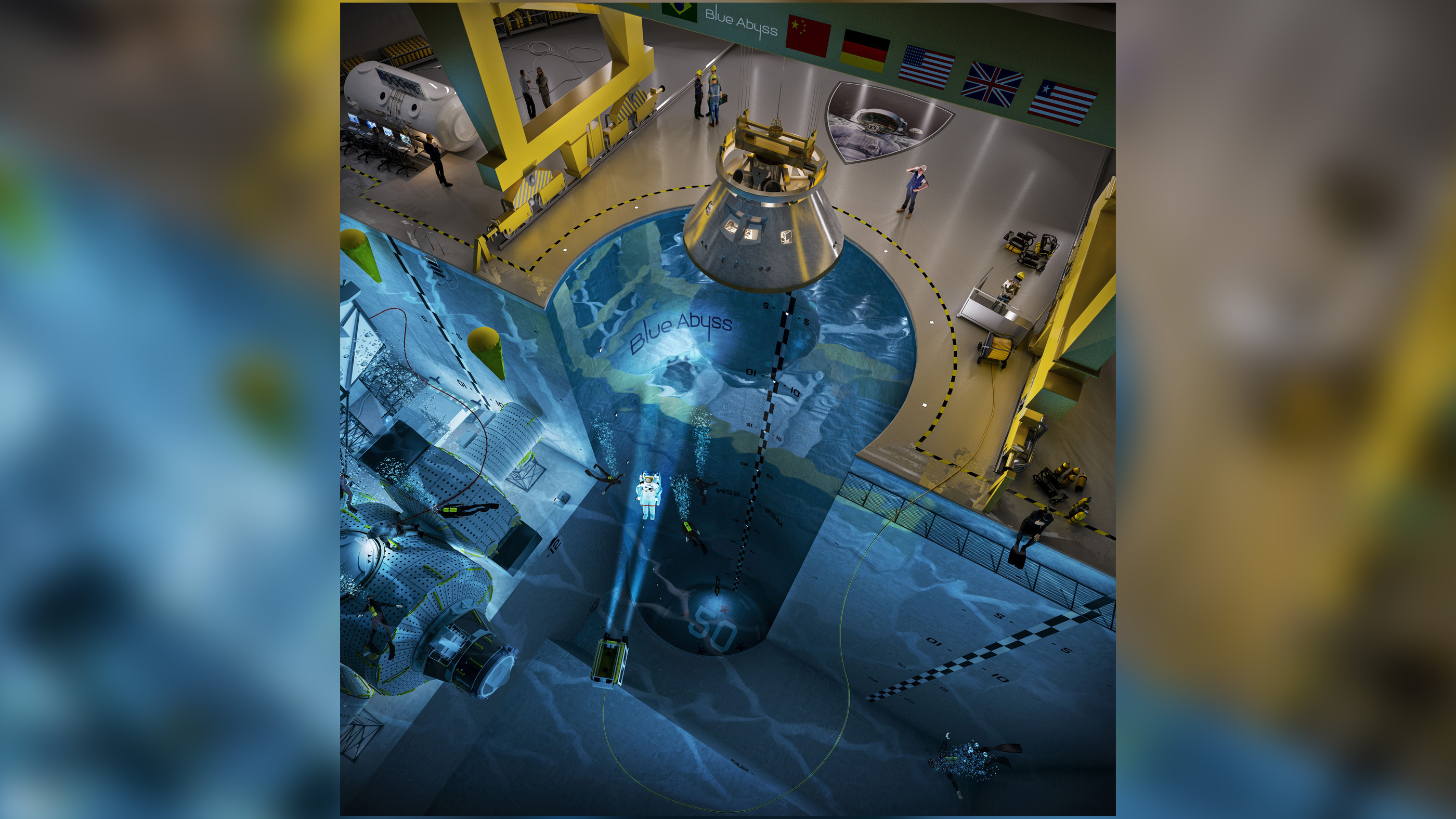 World's largest (and deepest) indoor pool to house new astronaut training center thumbnail