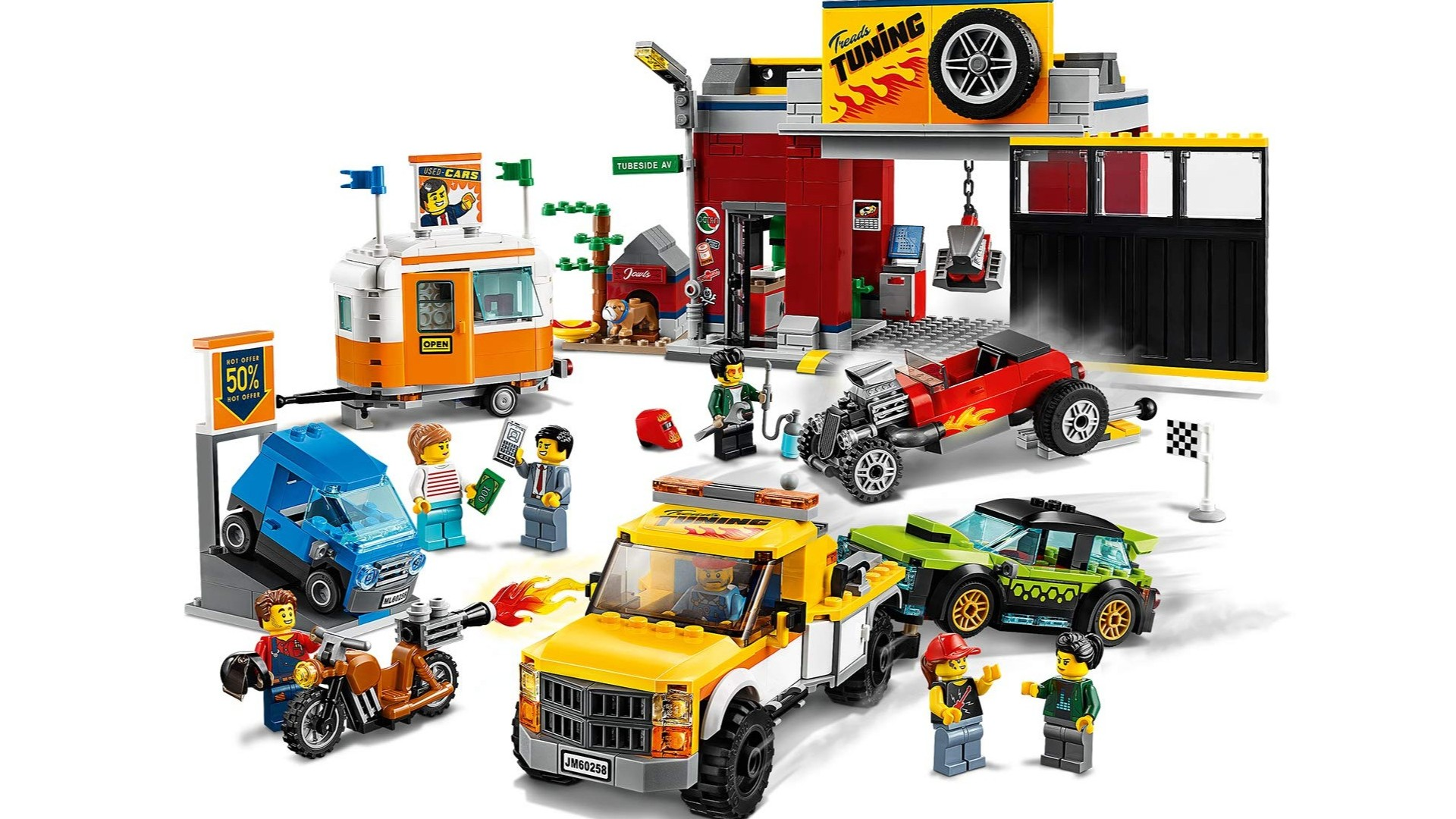 Best Lego City sets: Tuning Workshop