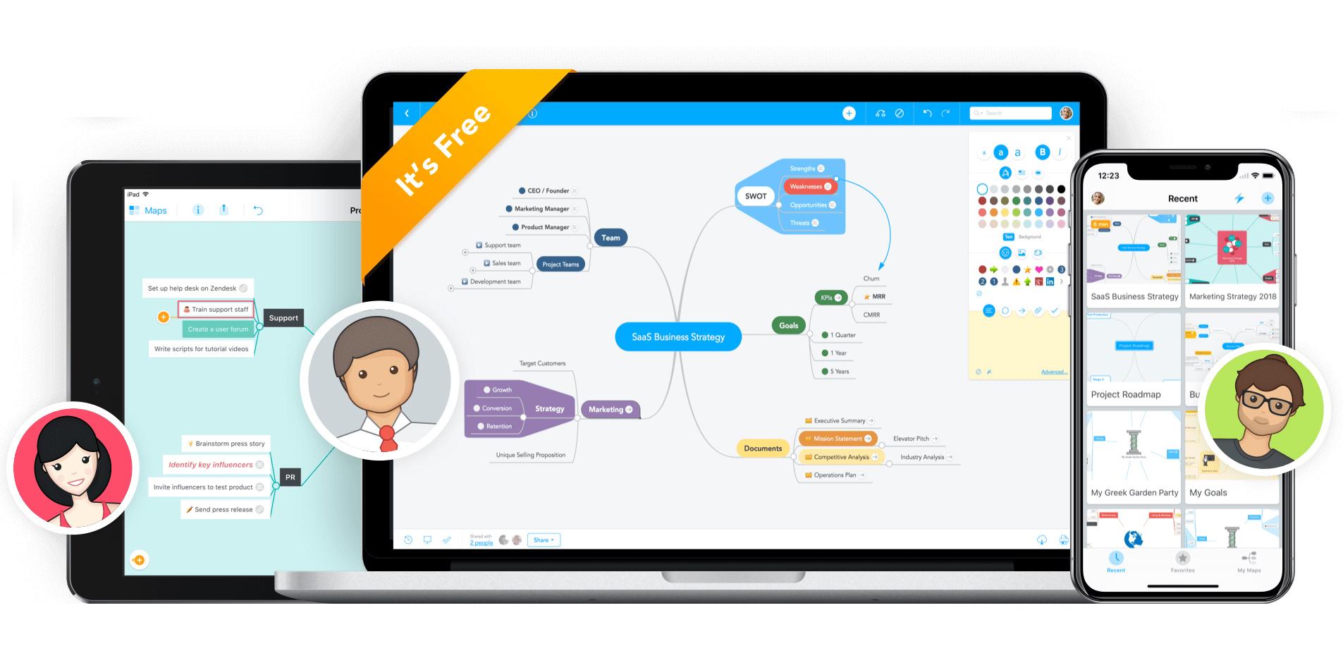 best collaboration tools: MindMeister