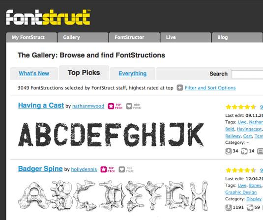 Download fonts: Fonstruct