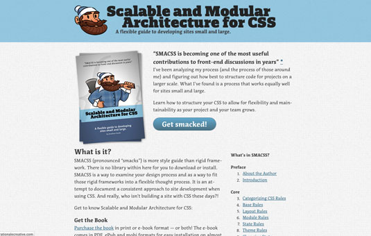 free ebooks for web designers: Scalable and Modular Architecture for CSS