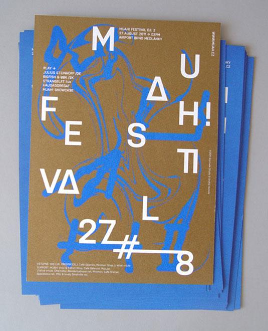 flyer design: Muah