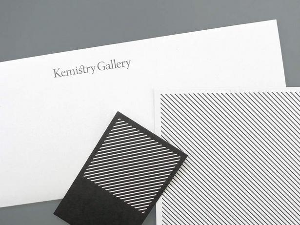 Kemistry gallery identity by Proud Creative