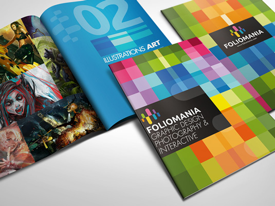 Brochure design: Foliomania