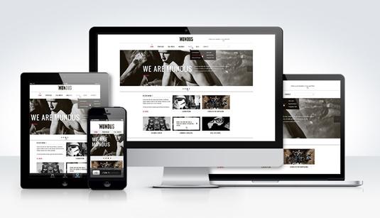 Drupal website on multiple devices
