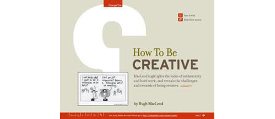 free ebooks for web designers: How To Be Creative