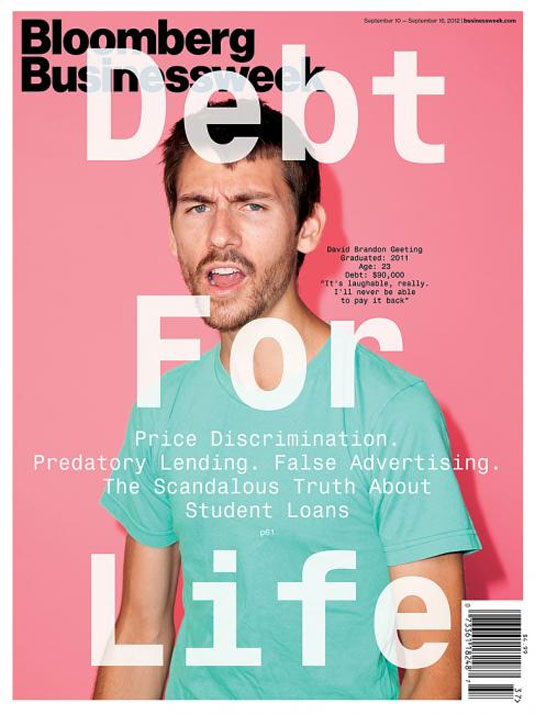 Magazine covers: Bloomsberg Businessweek