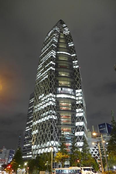 Panasonic Lumix LX7 Night Building