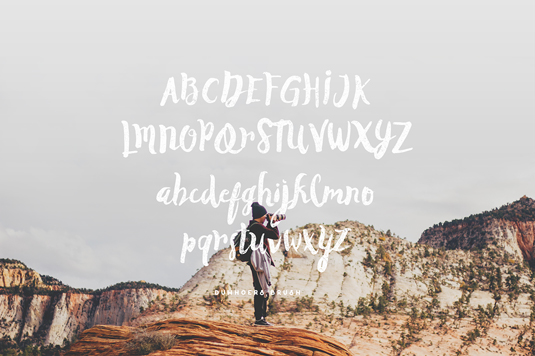 Free font: Duwhoers