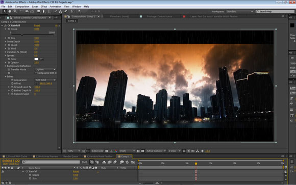 Cycore effects in After Effects CS6