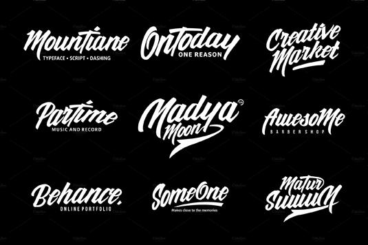 MounTiane font