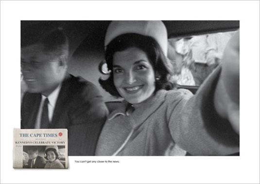 History photos selfie
