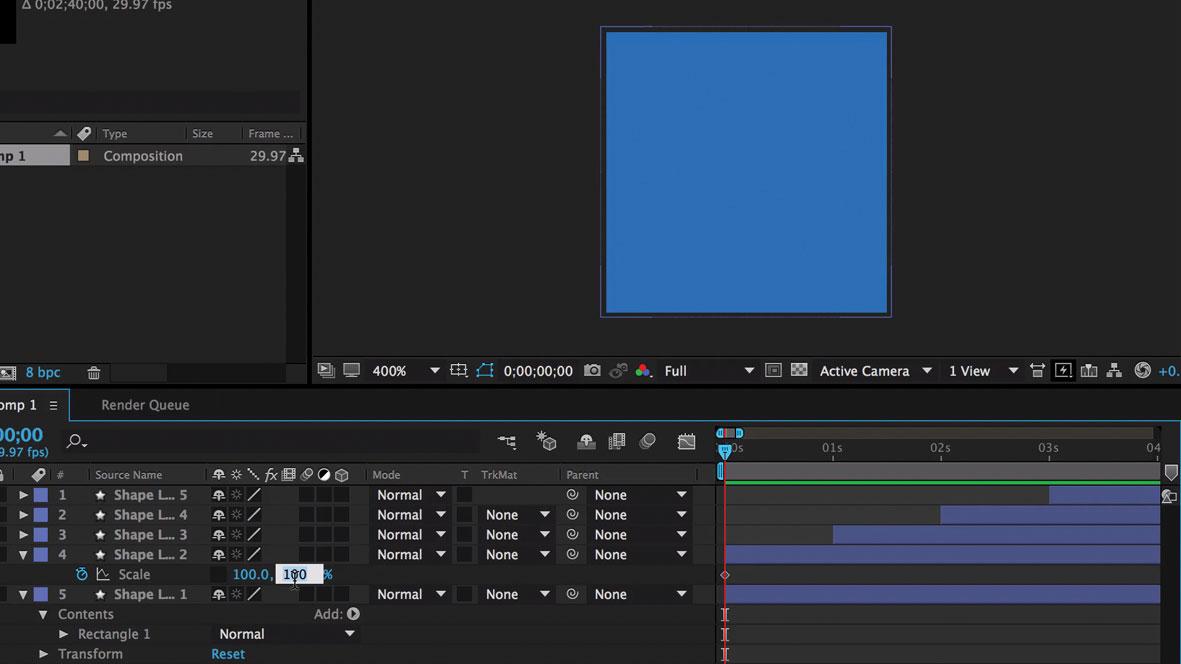 Design a branded loading animation: Create a keyframe