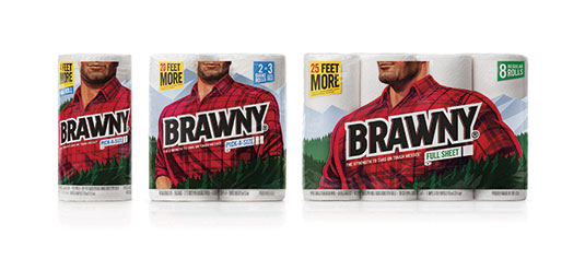 Brand Impact Awards - Brawny, by Turner Duckworth