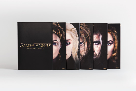 Game of Thrones DVD artwork