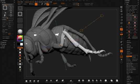 zbrush bug