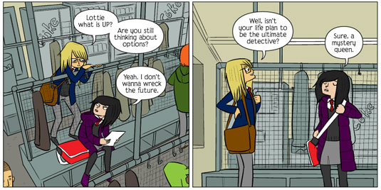 imaginative web comics: Bad Machinery