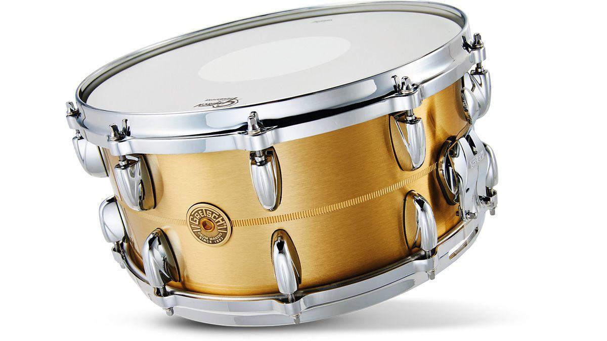 gretsch bell brass snare drum review musicradar. Black Bedroom Furniture Sets. Home Design Ideas