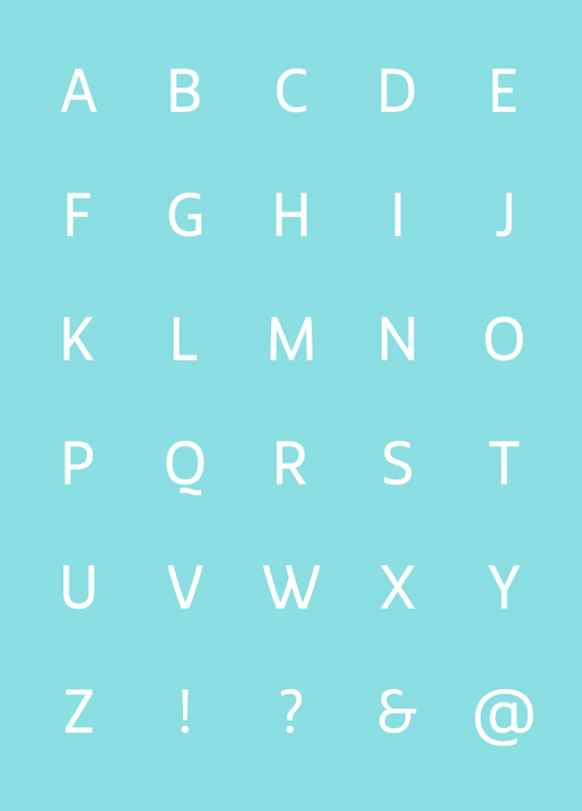 Free fonts: Smidswater