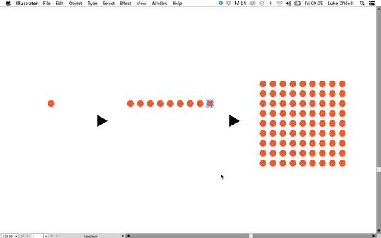 building shapes in Illustrator