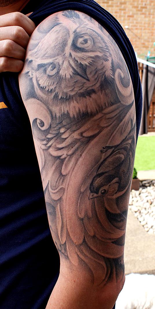 awesome tattoos: Steven Bonner