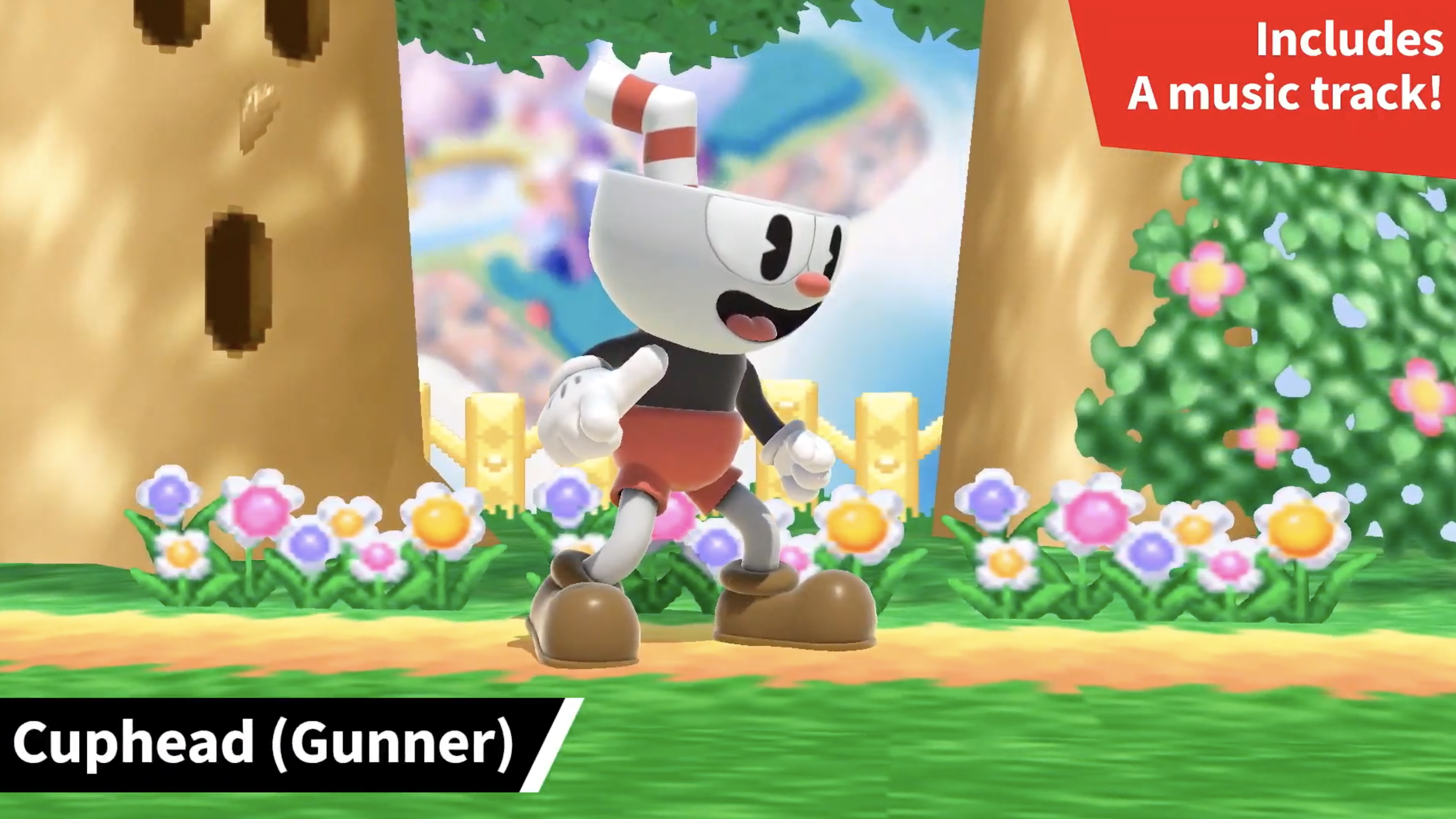 Cuphead is wasted in Super Smash Bros Ultimate as a measly Mii Fighter