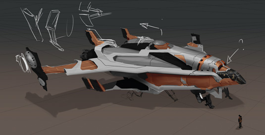 Game Space Ship: step 8