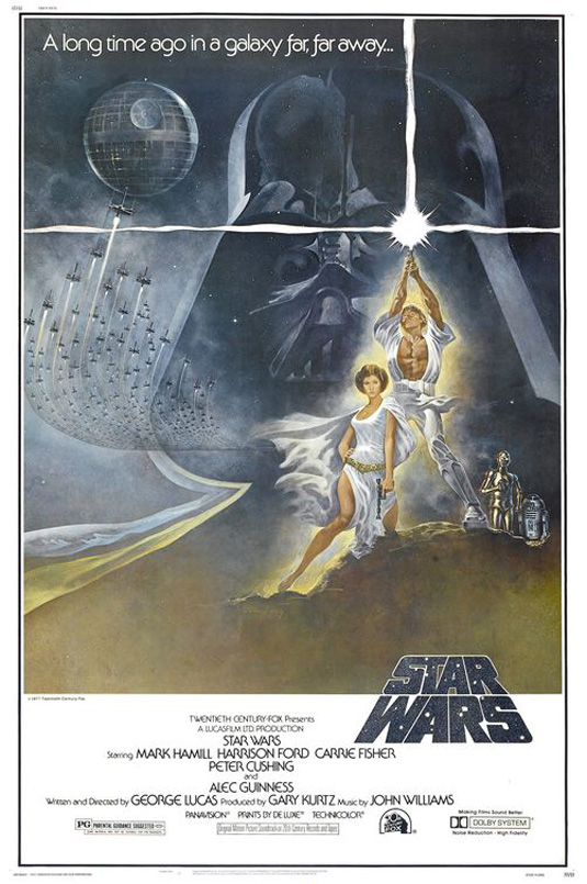 Movie posters: Star Wars