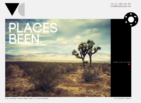 Website navigation: Stephen Vernon Clarke homepage