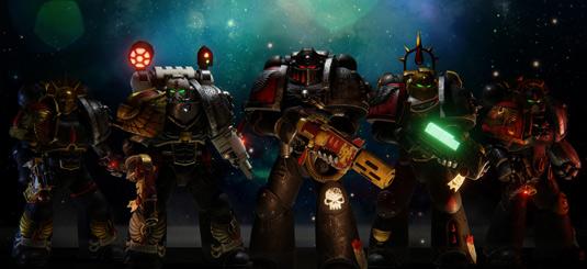 Warhammer 40K: Deathwatch art