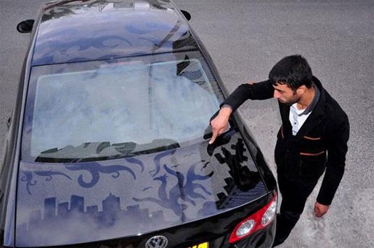 dust car art