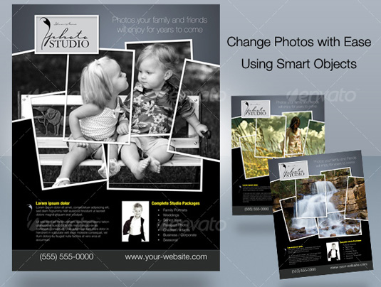 Free Photography Flyer Templates  Hlwhy