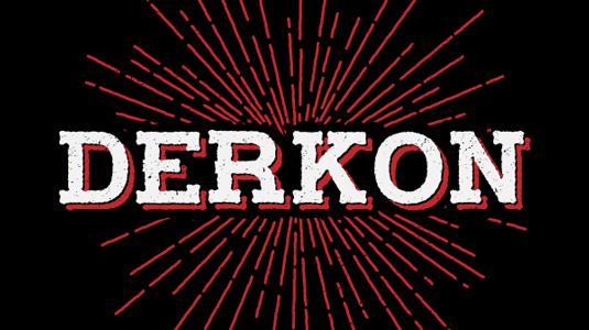 Free font: Derkon