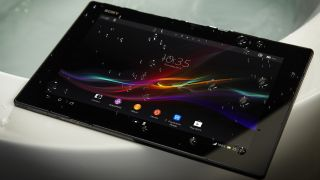 sony z4 tablet. when we first caught wind of the rumored sony xperia z4 tablet ultra in mid december, deemed it \