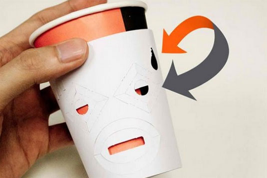 tearing cups