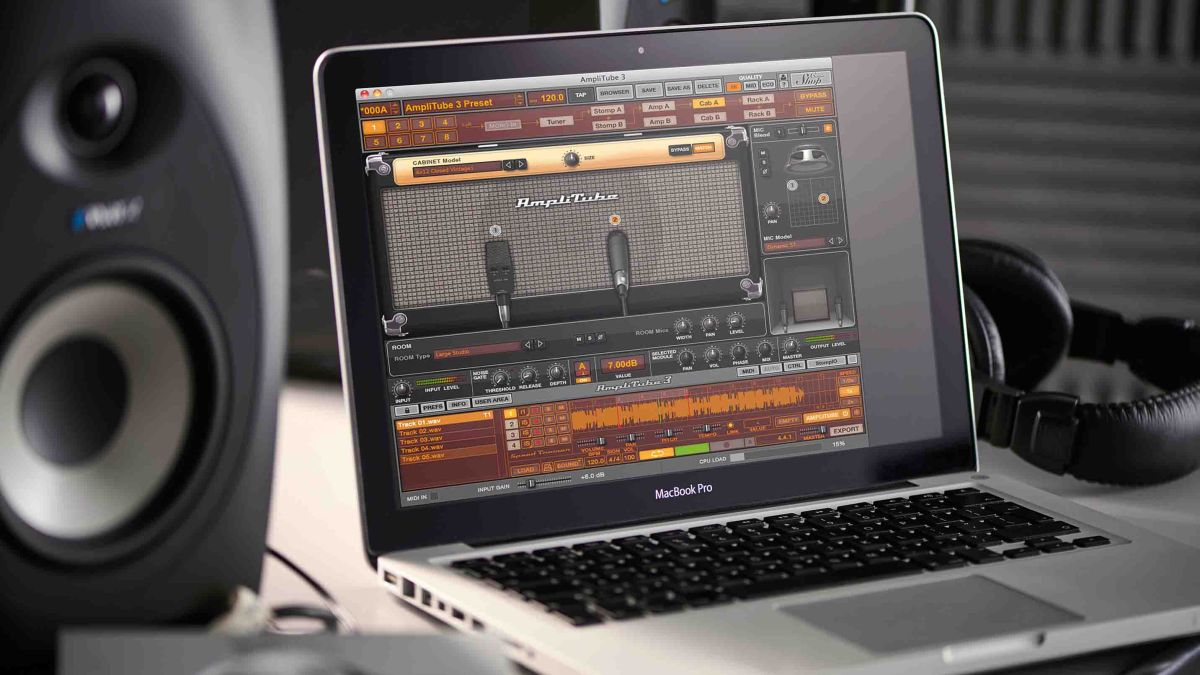 how to record electric guitar using amp modelling plugins musicradar. Black Bedroom Furniture Sets. Home Design Ideas