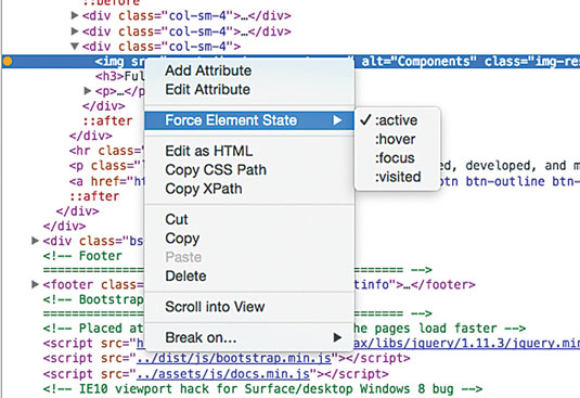 Live-code sites with Chrome Dev Tools