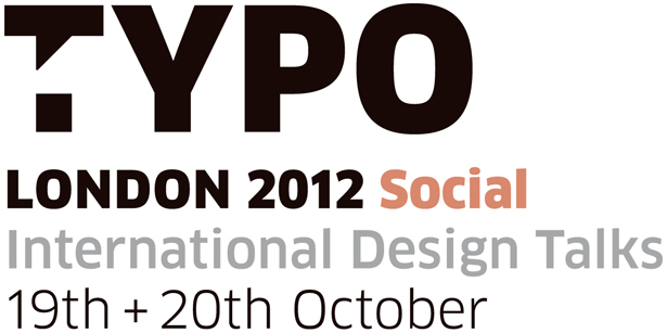 Typo London 2012: Social - official logo