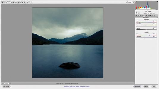 Adobe Camera Raw tutorial grab 2