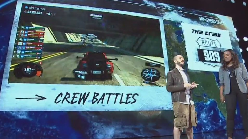 the crew gets a release date at e3 2014 open beta in july pc gamer. Black Bedroom Furniture Sets. Home Design Ideas