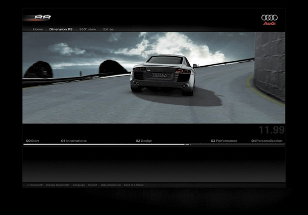 Best flash sites ever: Audi R8