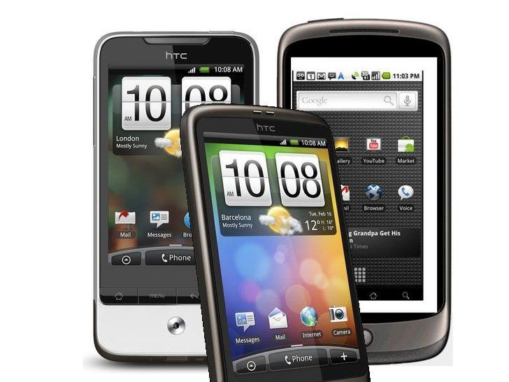 HTC Legend vs HTC Desire vs Google Nexus One