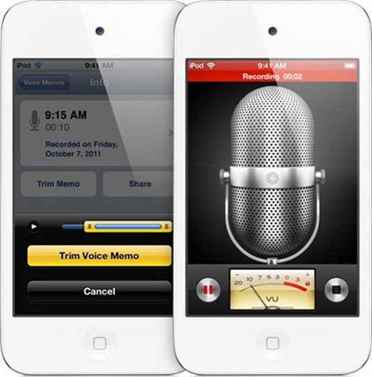 Skeuomorphism: Voice Memos app