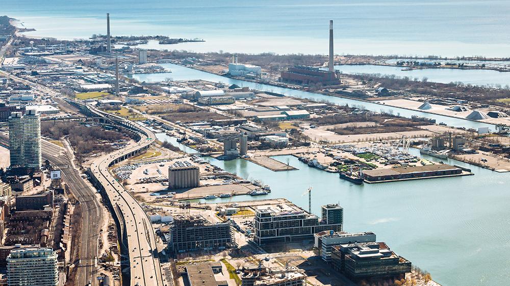 Smart city site in Toronto