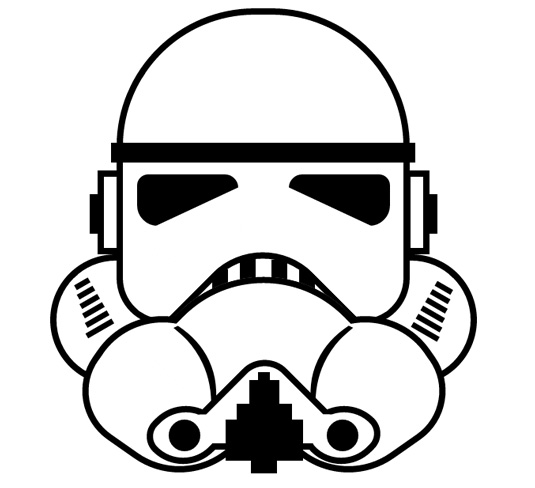CSS3 images: Stormtrooper
