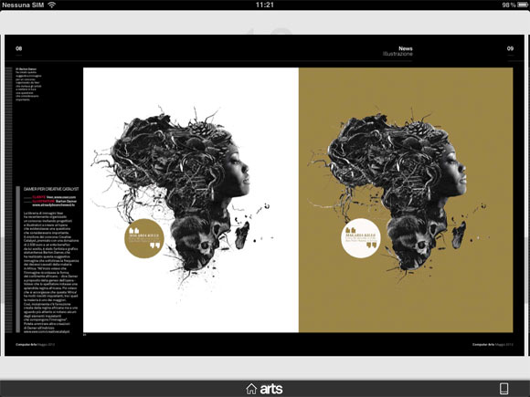 Computer Arts app
